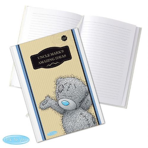 Personalised Me to You Hardback Notebook For Him